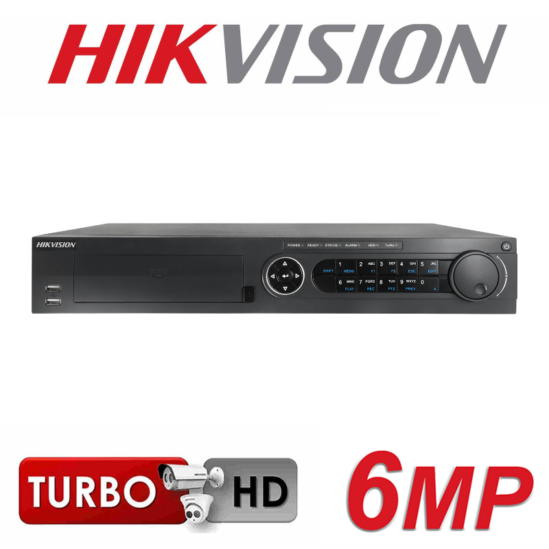 HIKVISION 32CH 16 IP POE PORTS 6MP 4 SATA INTERFACE HD NVR DS-7732NI-E4-16P