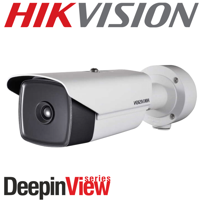 HIKVISION 3.1mm DEEP IN VIEW SMART THERMAL NETWORK IP PoE BULLET CAMERA DS-2TD2117-3-V1