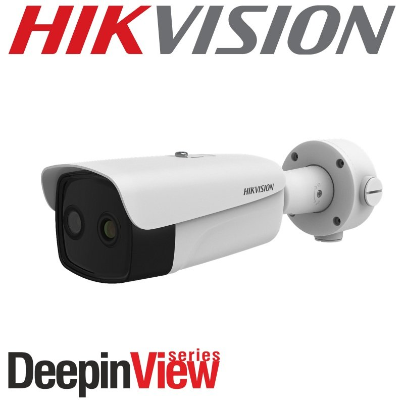 Hikvision 3.1mm fixed lens thermal network bullet camera with built in Bi-spectrum DS-2TD2617B-3/PA
