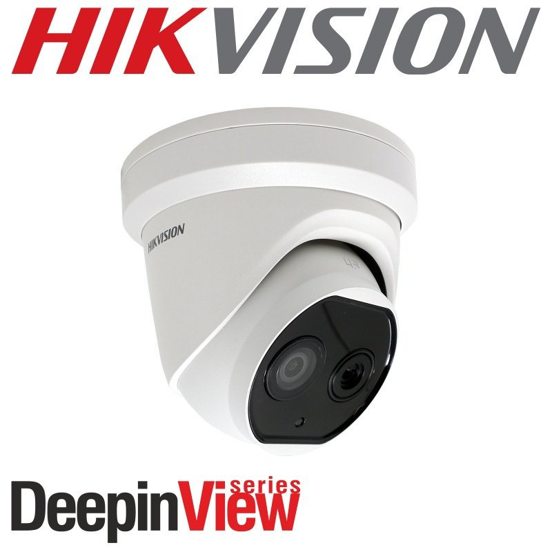 Hikvision 3.1mm fixed lens thermographic turret body temperature measurement camera DS-2TD1217B-3/PA
