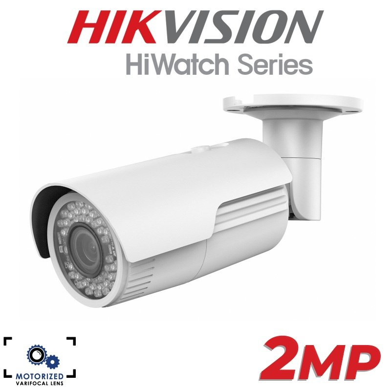 2MP HIKVISION HIWATCH SERIES VARIFOCAL MOTORISED LENS 2.8-12MM NETWORK BULLET IP POE CAMERA IR 30M IPC-B620-Z