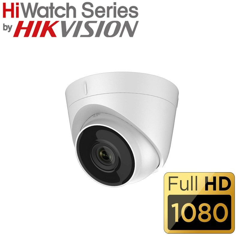HIKVISION HIWATCH 2MP 1080P NETWORK TURRET CAMERAP IPC-T120-D