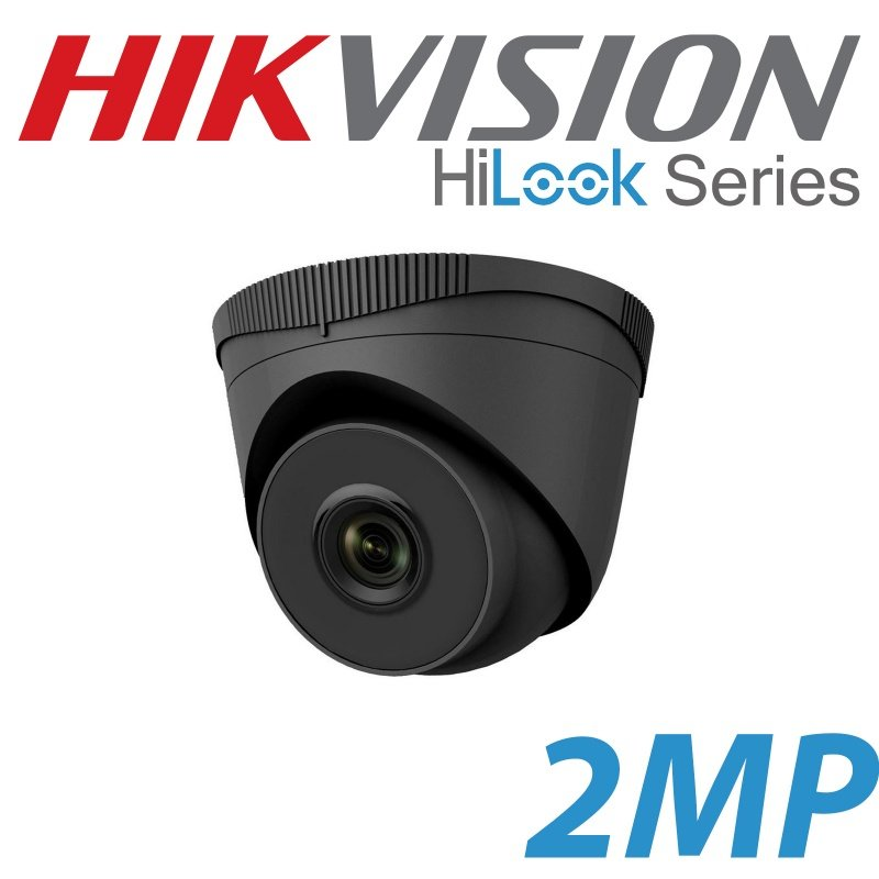 2MP HIKVISION IP POE HILOOK 2.8MM IPC-T221H GREY