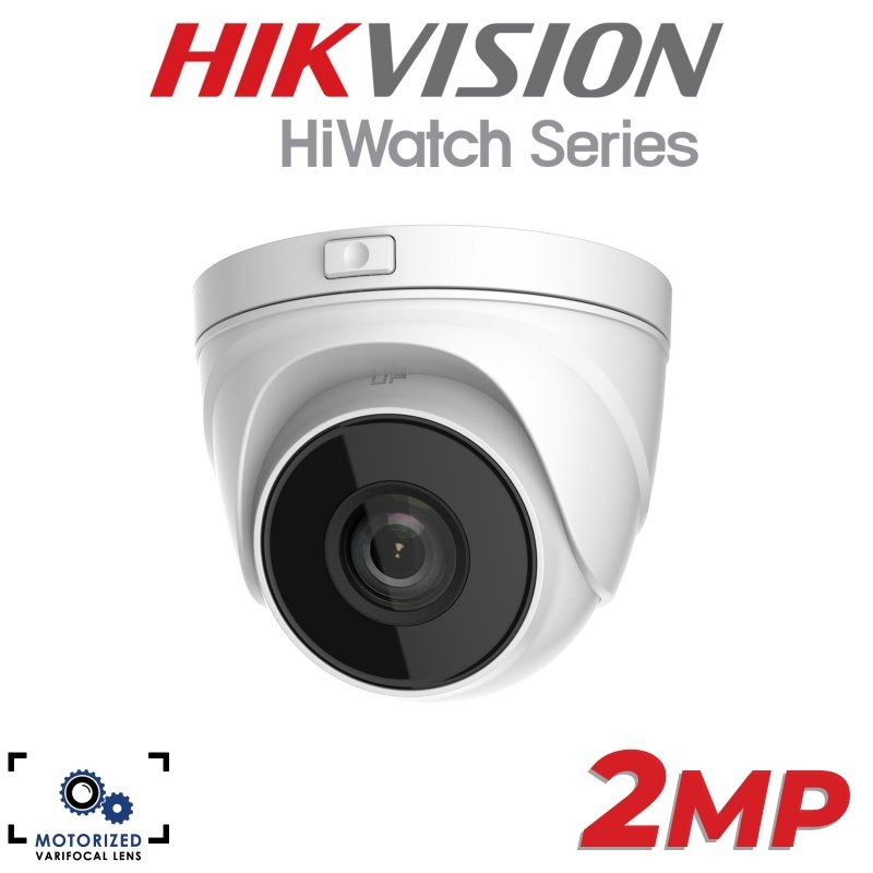 2MP HIKVISION HIWATCH SERIES CMOS VARI-FOCAL MOTORISED NETWORK TURRET CAMERA IPC-T620-Z