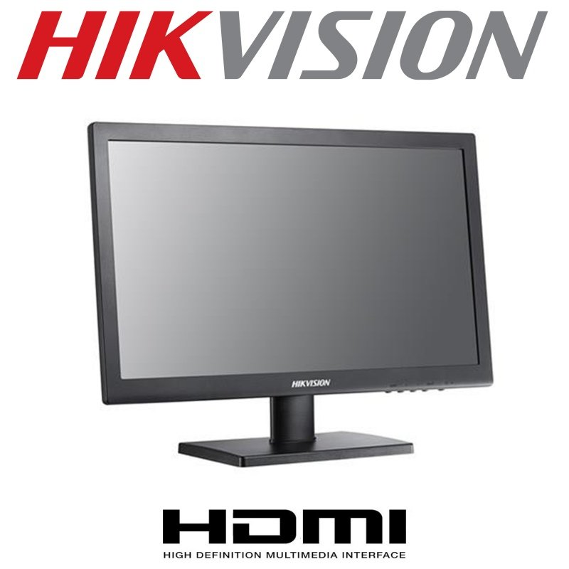 HIKVISION HIWATCH 22'' BNC + SPEAKERS  LCD-P22FHD-VHBA