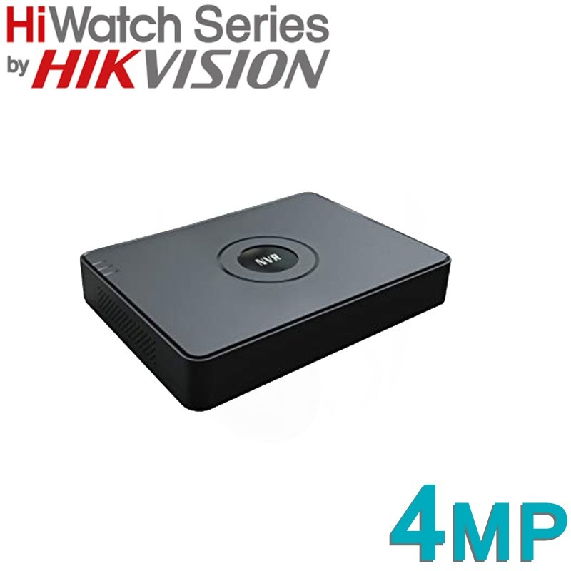 8CH HIKVISION HIWATCH 4MP NVR IP POE HDMI NVR-108-A/8P